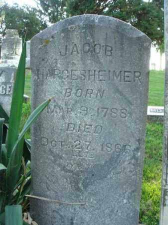 HARGESHEIMER, JACOB - Fairfield County, Ohio | JACOB HARGESHEIMER - Ohio Gravestone Photos