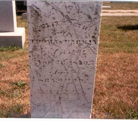 HARMAN, ELIZABETH - Fairfield County, Ohio | ELIZABETH HARMAN - Ohio Gravestone Photos