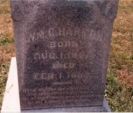 HARMAN, WM. G. - Fairfield County, Ohio   WM. G. HARMAN - Ohio Gravestone Photos