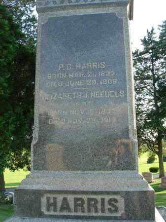 HARRIS, P. C. - Fairfield County, Ohio | P. C. HARRIS - Ohio Gravestone Photos