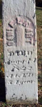 HART, DANIEL - Fairfield County, Ohio | DANIEL HART - Ohio Gravestone Photos