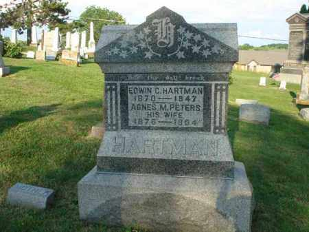 HARTMAN, AGNES M. - Fairfield County, Ohio | AGNES M. HARTMAN - Ohio Gravestone Photos