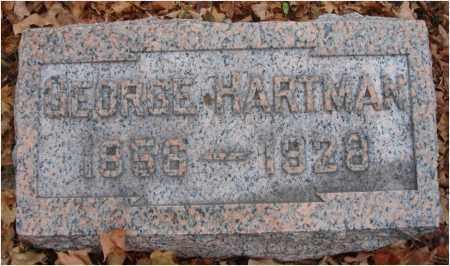 HARTMAN, GEORGE - Fairfield County, Ohio   GEORGE HARTMAN - Ohio Gravestone Photos