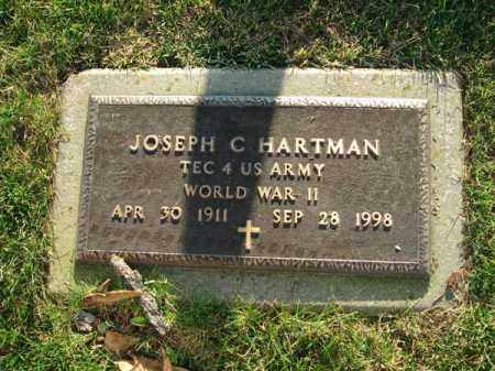 HARTMAN, JOSEPH C. - Fairfield County, Ohio | JOSEPH C. HARTMAN - Ohio Gravestone Photos