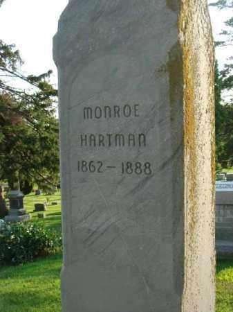 HARTMAN, MONROE - Fairfield County, Ohio | MONROE HARTMAN - Ohio Gravestone Photos