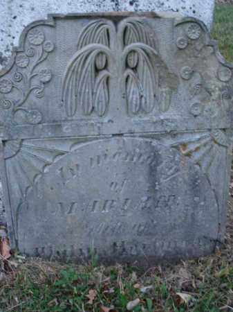 HARTMAN, MARIAH - Fairfield County, Ohio | MARIAH HARTMAN - Ohio Gravestone Photos