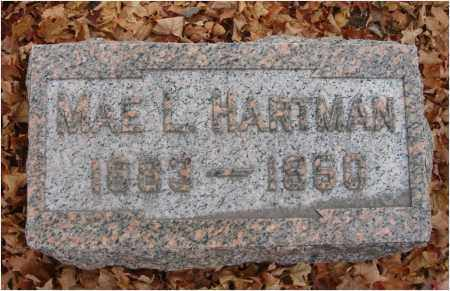 HARTMAN, MAE L. - Fairfield County, Ohio | MAE L. HARTMAN - Ohio Gravestone Photos