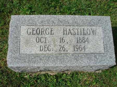 HASTILOW, GEORGE - Fairfield County, Ohio | GEORGE HASTILOW - Ohio Gravestone Photos