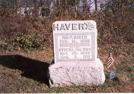 HAVER, SYRENA - Fairfield County, Ohio | SYRENA HAVER - Ohio Gravestone Photos