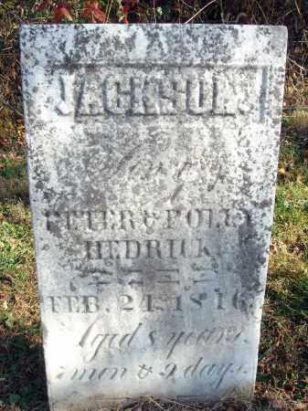 HEDRICK, JACKSON - Fairfield County, Ohio | JACKSON HEDRICK - Ohio Gravestone Photos