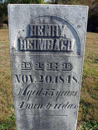 HEIMBACH, HENRY - Fairfield County, Ohio | HENRY HEIMBACH - Ohio Gravestone Photos