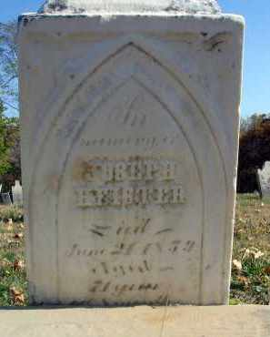 HEISTER, JOSEPH - Fairfield County, Ohio   JOSEPH HEISTER - Ohio Gravestone Photos