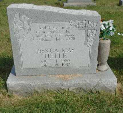 HELLE, JESSICA MAY - Fairfield County, Ohio   JESSICA MAY HELLE - Ohio Gravestone Photos