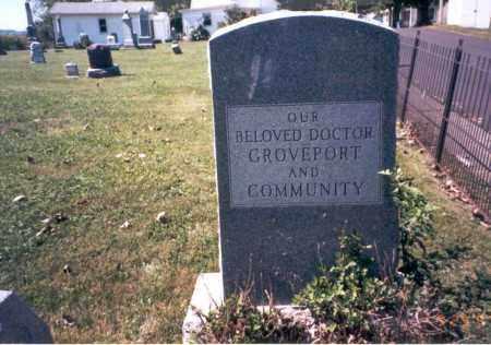 HEWETSON, DR. WALTON - Fairfield County, Ohio | DR. WALTON HEWETSON - Ohio Gravestone Photos