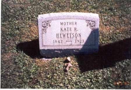 HEWETSON, KATE R. - Fairfield County, Ohio | KATE R. HEWETSON - Ohio Gravestone Photos
