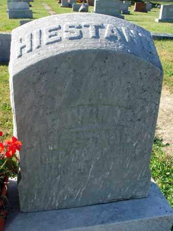HIESTAND, EDWIN L. - Fairfield County, Ohio | EDWIN L. HIESTAND - Ohio Gravestone Photos