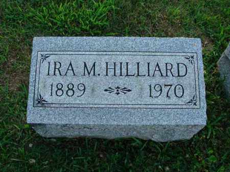 HILLIARD, IRA M. - Fairfield County, Ohio   IRA M. HILLIARD - Ohio Gravestone Photos