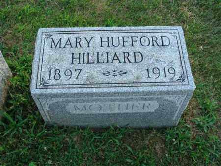 HUFFORD HILLIARD, MARY - Fairfield County, Ohio | MARY HUFFORD HILLIARD - Ohio Gravestone Photos