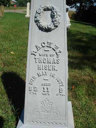 HISER, RACHEL - Fairfield County, Ohio | RACHEL HISER - Ohio Gravestone Photos