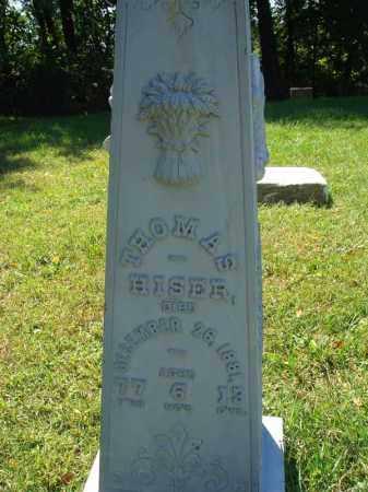 HISER, THOMAS - Fairfield County, Ohio | THOMAS HISER - Ohio Gravestone Photos