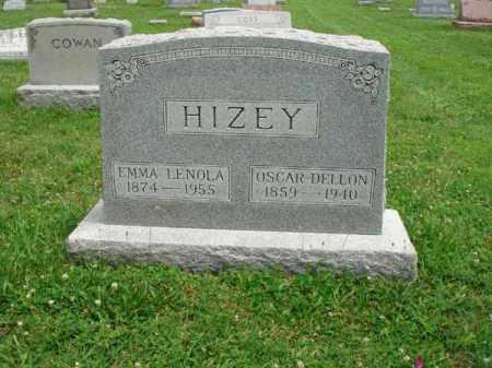 HIZEY, EMMA LENOLA - Fairfield County, Ohio | EMMA LENOLA HIZEY - Ohio Gravestone Photos