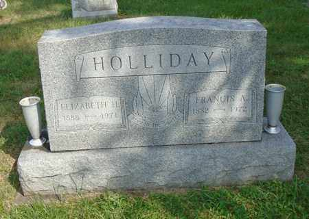 HOLLIDAY, FRANCIS A. - Fairfield County, Ohio | FRANCIS A. HOLLIDAY - Ohio Gravestone Photos