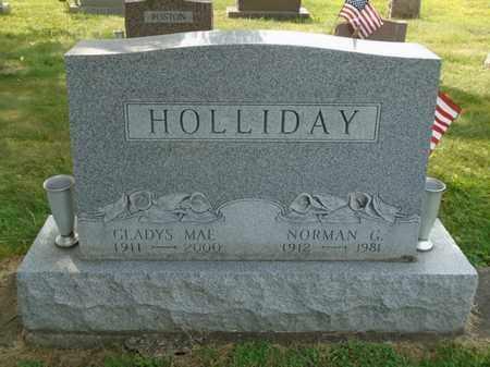 HOLLIDAY, NORMAN G. - Fairfield County, Ohio | NORMAN G. HOLLIDAY - Ohio Gravestone Photos