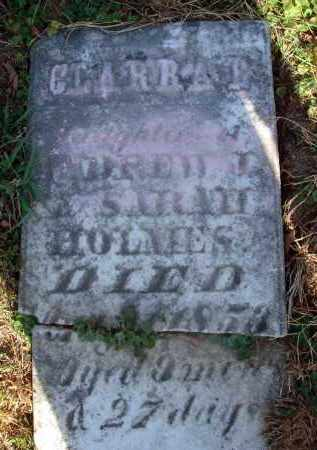 HOLMES, CLARRA B. - Fairfield County, Ohio   CLARRA B. HOLMES - Ohio Gravestone Photos