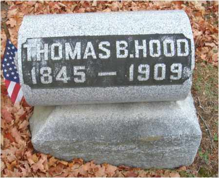 HOOD, THOMAS B. - Fairfield County, Ohio | THOMAS B. HOOD - Ohio Gravestone Photos