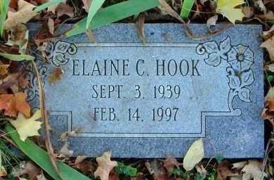 HOOK, ELAINE C. - Fairfield County, Ohio | ELAINE C. HOOK - Ohio Gravestone Photos