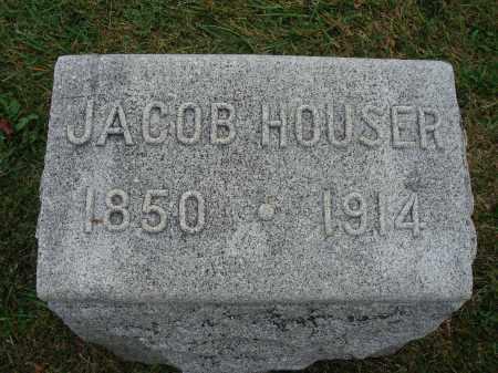 HOUSER, JACOB - Fairfield County, Ohio | JACOB HOUSER - Ohio Gravestone Photos