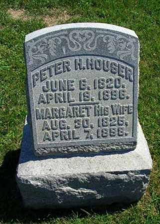 HOUSER, PETER H. - Fairfield County, Ohio   PETER H. HOUSER - Ohio Gravestone Photos