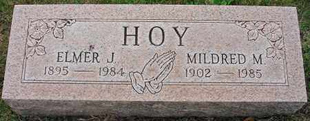 HOY, ELMER J. - Fairfield County, Ohio | ELMER J. HOY - Ohio Gravestone Photos