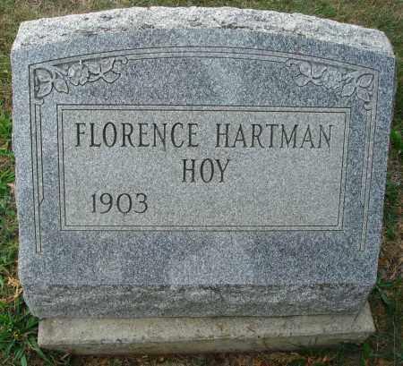 HOY, FLORENCE - Fairfield County, Ohio   FLORENCE HOY - Ohio Gravestone Photos