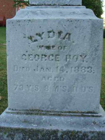 HOY, LYDIA - Fairfield County, Ohio | LYDIA HOY - Ohio Gravestone Photos