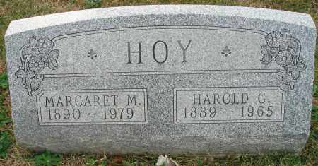 HOY, MARGARET M. - Fairfield County, Ohio | MARGARET M. HOY - Ohio Gravestone Photos