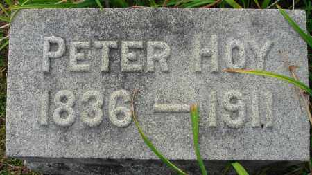 HOY, PETER - Fairfield County, Ohio | PETER HOY - Ohio Gravestone Photos