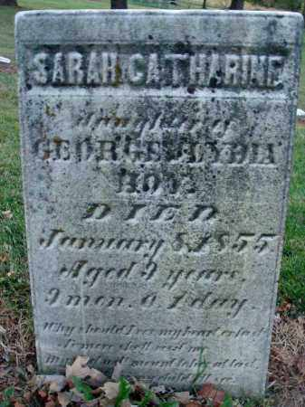 HOY, SARAH CATHARINE - Fairfield County, Ohio   SARAH CATHARINE HOY - Ohio Gravestone Photos