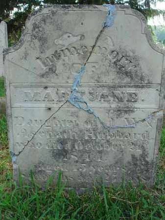 HUBBARD, MARY JANE - Fairfield County, Ohio | MARY JANE HUBBARD - Ohio Gravestone Photos