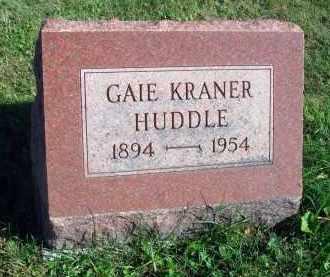 HUDDLE, GAIE - Fairfield County, Ohio | GAIE HUDDLE - Ohio Gravestone Photos