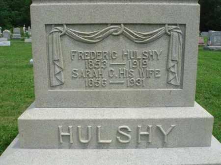 HULSHY, SARAH C. - Fairfield County, Ohio | SARAH C. HULSHY - Ohio Gravestone Photos