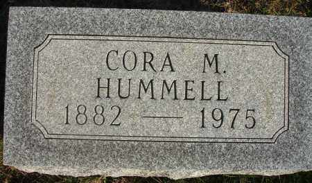 HUMMELL, CORA M. - Fairfield County, Ohio | CORA M. HUMMELL - Ohio Gravestone Photos