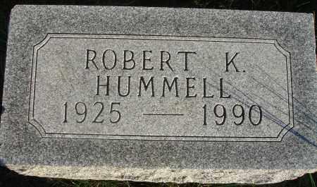 HUMMELL, ROBERT K. - Fairfield County, Ohio   ROBERT K. HUMMELL - Ohio Gravestone Photos