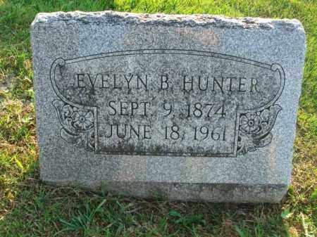 HUNTER, EVELYN B. - Fairfield County, Ohio   EVELYN B. HUNTER - Ohio Gravestone Photos