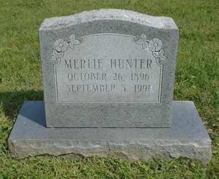 HUNTER, MERLIE - Fairfield County, Ohio | MERLIE HUNTER - Ohio Gravestone Photos