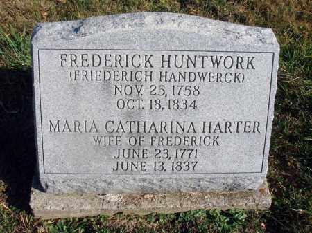 HUNTWORK, MARIA CATHARINA - Fairfield County, Ohio | MARIA CATHARINA HUNTWORK - Ohio Gravestone Photos