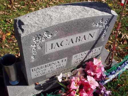 JACABAN, BALBINA D. - Fairfield County, Ohio | BALBINA D. JACABAN - Ohio Gravestone Photos