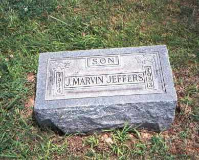 JEFFERS, J. MARVIN - Fairfield County, Ohio | J. MARVIN JEFFERS - Ohio Gravestone Photos