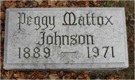 JOHNSON, PEGGY - Fairfield County, Ohio | PEGGY JOHNSON - Ohio Gravestone Photos