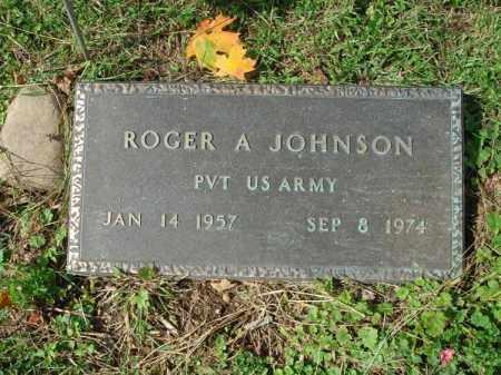 JOHNSON, ROGER A. - Fairfield County, Ohio | ROGER A. JOHNSON - Ohio Gravestone Photos